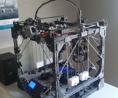 Creating a large scale printer from a smaller 3d printer. Maybe in the future I will be able to 3d print my own kayak.