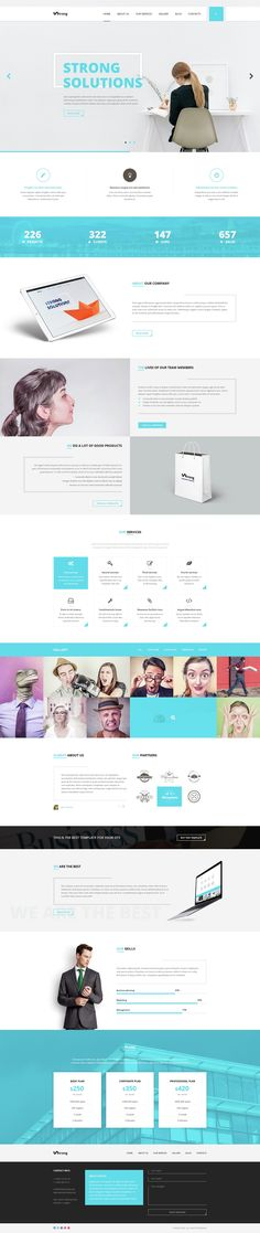 Business Web Themes #DESIGN