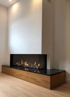 Fireplace Facade, Basement Fireplace, Bedroom Fireplace, Home Fireplace, Fireplace Remodel, Fireplace Inserts, Modern Fireplace, Fireplace Ideas, Fireplace Design