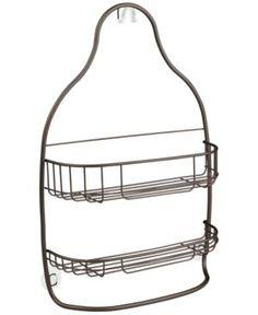 Interdesign Nogu Wide Nesting Shower Caddy - Gold