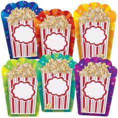 Popcorn Buckets Bulletin Board Accents