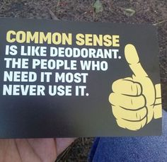 The Plain Truth About Common Sense