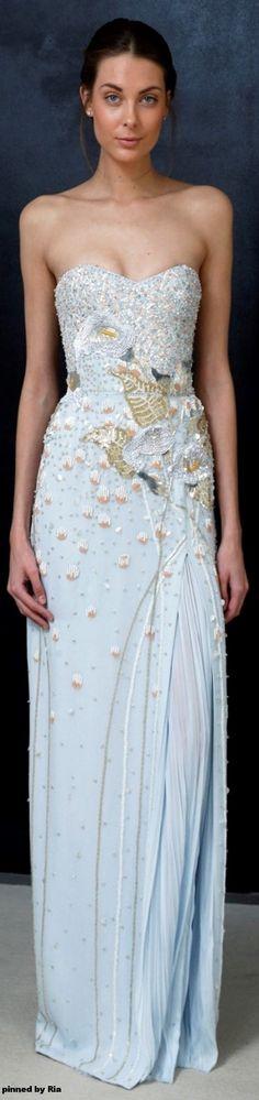 J Mendel Bridal Spring 2017 l Gorgeous Fashion