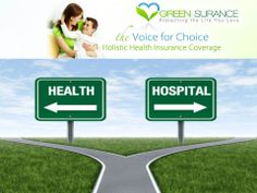 "Only Green-Surance guarantee's coverage that takes people out of the ""sickcare system"" of terminal medicine and put people on the path to recovery and vibrant health through miracle coverage; Holistic Health Insurance ensures your right to alternative treatment in catastrophic illness. Don't miss your chance to enroll in this amazing coverage! Log on to;  mygreensurance.com"