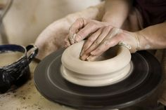 Using Slabs and Molds for Pottery