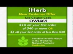 Coupon code iHerb OWI469 http://www.youtube.com/watch?v=vXCPDEkO9g4&feature=youtu.be promotions iHerb https://twitter.com/iHerbpromotions