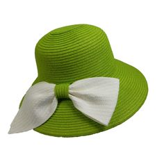 One size. Summer Hats For Women, Cloche Hat, Paper Straws, Large White, Sun Hats, Bows, Braid, Ribbon, Products