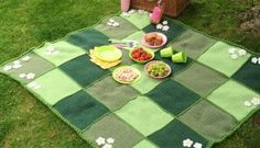 Crochet with Kate: the ultimate picnic blanket