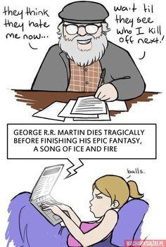 Wredny George R.R. Martin