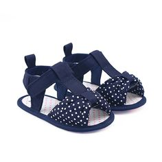 Cheap baby sandals girls, Buy Quality baby shoes directly from China sandals baby girl Suppliers: Navy Blue Bowknot Baby Girl Shoes Summer Sandals Polka Dots Bow Soft Sole Baby Girl Sandals meisje sandalen chaussure fille Baby Girl Sandals, Girls Sandals, Baby Girl Shoes, Kid Shoes, Baby Girl Romper, Girls Shoes, Baby Girls, Baby Girl Party Dresses, Christening Gowns Girls