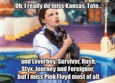 Start Wizard of Oz and Dark Side of the Moon at the same time and see what happens.