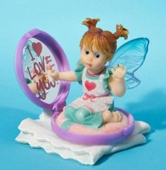 My Little Kitchen Fairies from Enesco Mama's Compact Fairie Figurine 3.25 IN