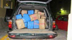 La Guardia Civil interviene 3.800 kilos de hachís