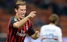 Il Milan supera di misura la Samp con un gran goal di Birsa #birsa #milan #seriea #sampdoria