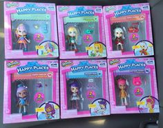 Shopkins Happy Places Home Collection All 6 Lil Shoppie Packs | eBay