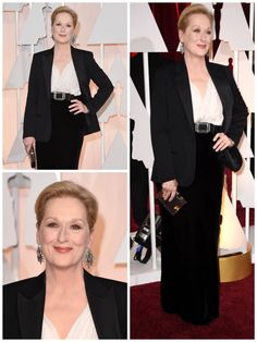 Meryl Streep What wore Nominees for best supporting actress on Oscars 2015? See more here: http://everydaytalks.com/oscars-red-carpet-nominees-for-best-supporting-actress/