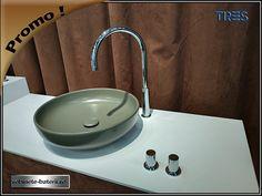 Baterie lavoar Study cu trei orificii Sink, Home Decor, Sink Tops, Vessel Sink, Decoration Home, Room Decor, Sinks, Interior Design, Home Interiors