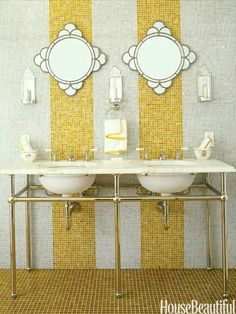 Yellow Rooms and Decor - Ideas for Decorating With Yellow - House Beautiful