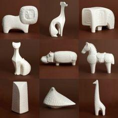 Jonathan Adler -Animal Pottery Designs