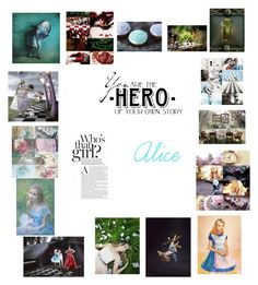 """""""Alice"""" by lindseythestylist ❤ liked on Polyvore featuring Disney"""