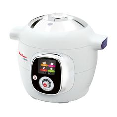 Make delicious meals quickly and easily with the Tefal Multicooker. With over 85 built in, easy to make recipes varying from starters to mains and desserts, the Tefal Multicooker features a simple compact design that will look great in any kitchen. Fagor Pressure Cooker, Electric Pressure Cooker, Pressure Cooking, New Cooking, Cooking Light, Cooking Timer, Cooking Recipes, Cooking Kale, Actifry