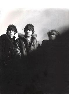 Mick, Keith and Brian