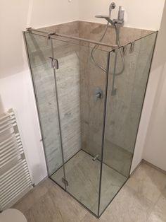 Piatto doccia da appoggio p dreno plus su misura rettangolare pentagonale curvo piatto doccia - Box doccia pentagonale ...