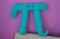 BIG Crochet Pi. $28.00, via Etsy.