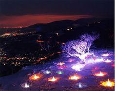 Otaru Snow Light Path, Hokkaido Japan