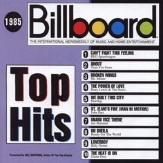 Billboard Top Hits 1985 Year Kristin was born❤️ Billboard Top 10, Billboard Music, Reo Speedwagon, Top 40 Hits, Tears For Fears, Music Charts, Thing 1, Pop Music, Music Bands
