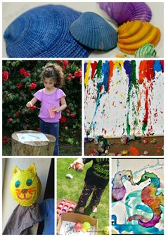 Awesome Summer Art Projects for Kids Summer Art Projects, Art Projects For Teens, Cool Art Projects, Art For Kids, Crafts For Kids, Arts And Crafts, Art Journal Pages, Art Nouveau, Art Anime