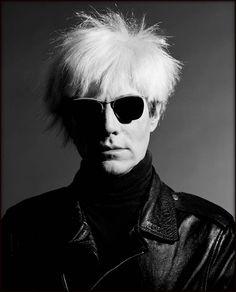 Photograph of Andy Warhol by Kansas City native Greg Gorman