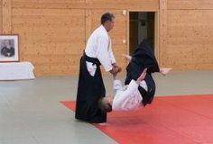 Fotos vom Aikido Verbandslehrgang im Budokan Wels am 13. und 14. Mai 2017. Im Rahmen dieses Lehrgangs legten 5 Vereinsmitglieder erfolgreich Ihre Danprüfungen ab: Kokyonage