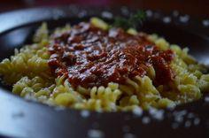 Delicious, fish sauce for pasta