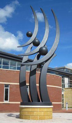 Sculpture for public places, exterior art, landscape sculpture, large sculpture, public art