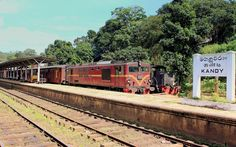 Kandy Railway Station, Sri Lanka