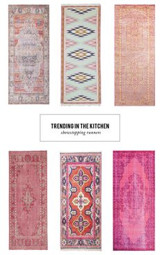 Kitchen Remodeling Trends runners in the kitchen - A collection of 12 rug runners that will add a big dose of color to your kitchen. Room Rugs, Rugs In Living Room, Area Rugs, Kitchen Runner, Kitchen Mats, Kitchen Sink, Stair Rugs, Photoshop, Carpet Runner