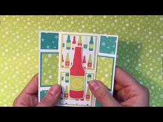 Stampin' Up! Bubble Over neverending card - YouTube