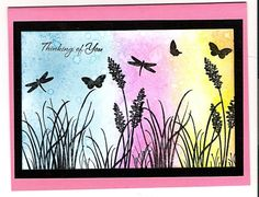 Technique Tues Sponge Spritz by stamps4funGin - Cards and Paper Crafts at Splitcoaststampers