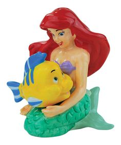 This Ariel & Flounder Salt & Pepper Shakers is perfect!  | http://www.zulily.com/invite/jenns600