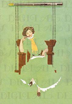 Fadeaway Girl by C. Coles Phillips