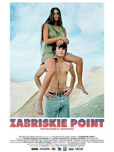 Zabriskie Point est un film de Michelangelo Antonioni avec Rod Taylor, Mark Frechette. Synopsis : Los Angeles, 1969. La contestation grandit dans les milieux universitaires. Marc, un jeune homme solitaire, est prêt à mourir pour la révolution mais