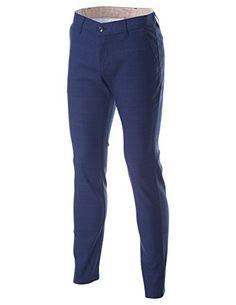 FLATSEVEN Men's Slim Fit Plaid Glen Check Flat Front Long Pants (PAC138) Navy, XL FLATSEVEN http://www.amazon.com/dp/B00T1SNJ82/ref=cm_sw_r_pi_dp_BPW2ub02ZB4KV #FLATSEVEN Men #Slim Fit #Pants #Fashion
