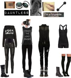 """Dauntless"" by sara-bvb-army-8 ❤ liked on Polyvore"