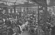 MFO Park, The Maschinenfabrik Oerlikon factory , inner part (1930)