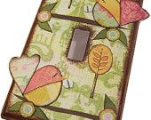 Decoupaged Light Switch Plate Cover - Owl -MADE TO ORDER----Please See Listing for Details
