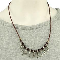 Florida State Seminoles (FSU) Ladies Chant Necklace