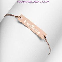 Engraved Bracelet, Name Bracelet, Silver Bar Necklace, Sterling Silver Necklaces, Bracelets En Argent Sterling, Science Jewelry, Silver Bars, Gemini, Thin Chain