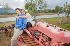 Tractor engagement by Bayphoto Net Photography -- San Francisco Bay area's favorite wedding photographer