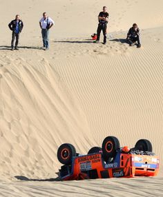 Robby Gordon Rolls In Dakar, Takes This Epic Picture.
